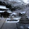 雪の三室戸寺・和束町の茶畑(2014/1/19)