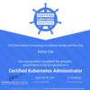 CNCF公認のKubernetes試験、Certified Kubernetes Administrator(CKA)を新形式で受けて合格しました。