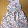 【手作り】H&M風 子供服 ワンピース 作りました!!①