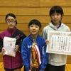 【 試合結果 】第27回くりこま高原卓球大会