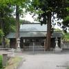 氏神社の手水鉢