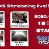 【ライブレポ】大船渡フリークス FREAKS Streaming live!! vol.1
