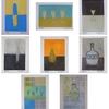 「8cm×12cmの小さなアート」作品追加(#181-#188)