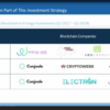 ブロックチェーン開発会社への出資