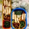 【今日のお弁当】チキンピカタとにんじん金平、いんげんごまあえ。