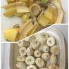 おやつにバナナアイス♪