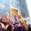 シャーヒズィンダ廟群で青に溺れる 憧れのウズベキスタン#5