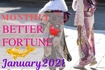 2021年1月【心機一転の月】の運活月報✧