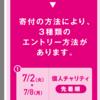 東京マラソンエントリー完了