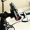 自転車のヘッドライト  ブラケットで手持ちのレッドレンザーのLEDライトを取り付け