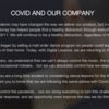 COVIDと私たちの企業アーサー・マレー