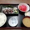 西川口の「あおき食堂」さんでさんま刺身定食を食べました★