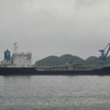 セメント運搬船が入港!