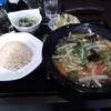 札幌市南区澄川 紫宴閣であんかけ焼きそばセット