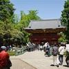 令和も根津神社で御朱印をいただく。
