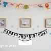 【おーくん2歳】週末のお誕生日パーティーの振り返り~飾りつけ・ご飯他~
