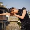 上海廃墟の古鎮でチャイナドレスポートレート撮影会「迷城」