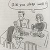【間違え注意!】「起きる/起こす/目覚める/寝る/眠る/眠っている/寝坊する/二度寝する/寝不足」(起こしちゃってごめん)は英語で?
