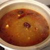 自宅で火鍋スープを作る