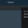 Python学習メモ20170625