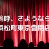 嗚呼、さようなら。浜松町東京会館