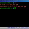 GNU screenのcaption, hardstatus で日本語が文字化けする問題 その2
