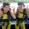 竜宮城ラチャヤイ島で体験ダイビング