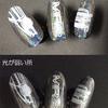CNC3018proで  ネイル スタンピング プレート自作 002 (車)アクリル板切削 DIY