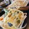 ●桶川市「手打ち蕎麦さかい」の海老天もりそば