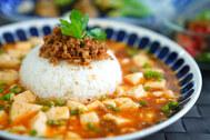 【麻婆豆腐】毎日食べたいぐらい好きだからインスタ映えにアレンジ