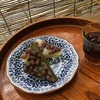 水無月&柿葉寿司 ~Triangle ricepowder cake with red beans & Persimmon leaf press sushi
