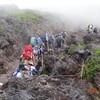 7月18・19日(水) いよいよ出発、富士登山