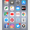 iPhoneのアプリの配置でオススメしたい。よく使うアプリは下のほうへ。