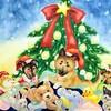 いろいろな犬を描く 9~犬たちのクリスマスパーティ