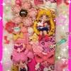 キャラパーツでデコiPhoneケースを作ってみたその12★セーラームーン&ちびうさ(美少女戦士セーラームーン )★