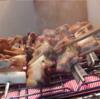 幸運な病のレシピ( 722 )夜 :東京シャモ焼き鳥(リンナイ赤外線グリラー 「R-3452-III」)、シャモ鍋