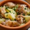 鶏肉とじゃがいものアヒージョのレシピ