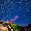 泰山で星の撮影~-山東泰山旅行-疲れない大人の登山(3)
