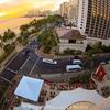 1枚の写真から、、アストン・ワイキキ・ビーチホテルからの眺め。