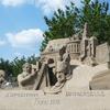 2018吹上浜砂の祭典の砂像(ゴールデンステージは5/6まで)@南さつま市金峰町