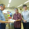 9日、福島市南部の交通対策で福島警察署に要望。