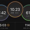 ジョギング10.23km+10.12km・1月もいよいよ終わりの巻