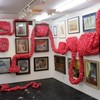 ギャラリー川船の山本麻世展「川底でひるね」を見る