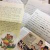 ペルーの友達とは昔は手紙のやり取りで交流していた!