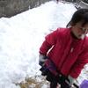 不器用な雪掻き道
