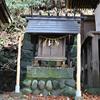 手長神社境内の天照皇大神宮(?)の御柱