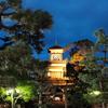 今日も尾山神社が街を照らす!  神門が誘う文明開化の時代。