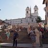 ポポロ広場からスペイン階段へ