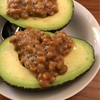 Abocado natto sauce