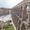 城塞都市セゴビアとローマ水道橋